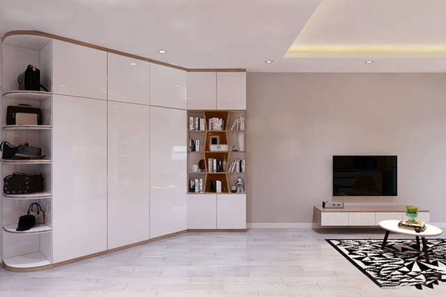thiết kế nội thất chung cư 45m2 5