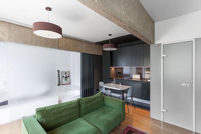 thiết kế nội thất chung cư diện tích nhỏ 6