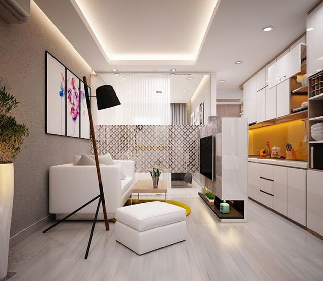 thiết kế nội thất chung cư diện tích nhỏ 15