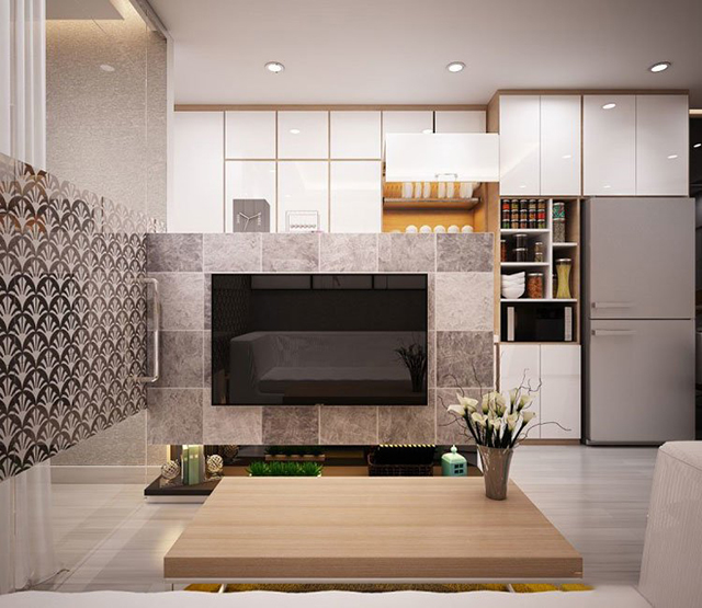 thiết kế nội thất chung cư diện tích nhỏ 20