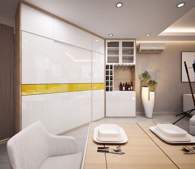thiết kế nội thất chung cư diện tích nhỏ 56