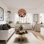 4 Mẫu thiết kế nội thất chung cư nhỏ 60m2, 50m2, 40m2, 30m2