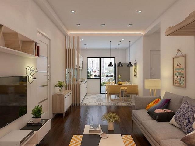 Tập trung thiết kế phòng khách vì đây là không gian quan trọng nhất