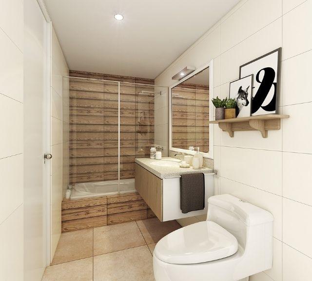 Thiết kế phòng tắm tại căn hộ 60m2