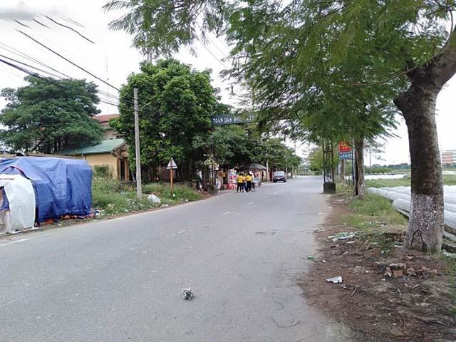 Bán đất mặt đường Tiên Dương, Đông Anh 1800m2