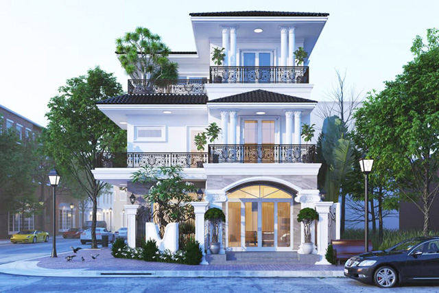 Công ty thiết kế biệt thự tại Ninh Bình