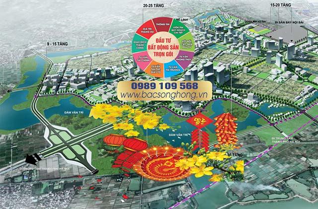 Kênh thông tin bất động sản xã Tiên Dương Bắc Sông Hồng