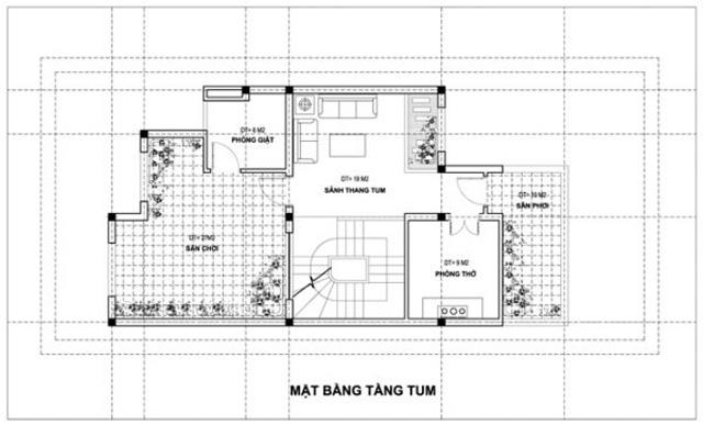 Bản vẽ thiết kế tầng 4
