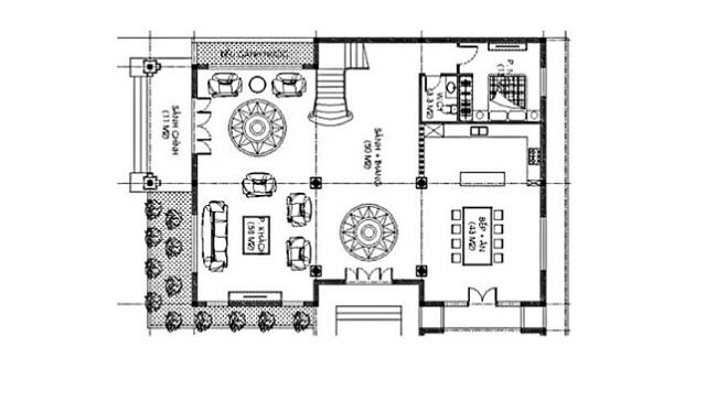 Bản thiết kế tầng 1