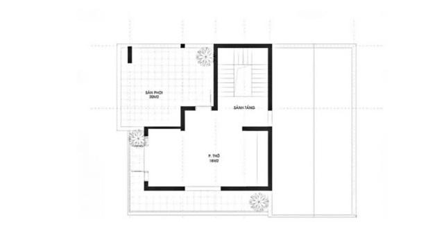 Mẫu bản vẽ thiết kế tầng 3