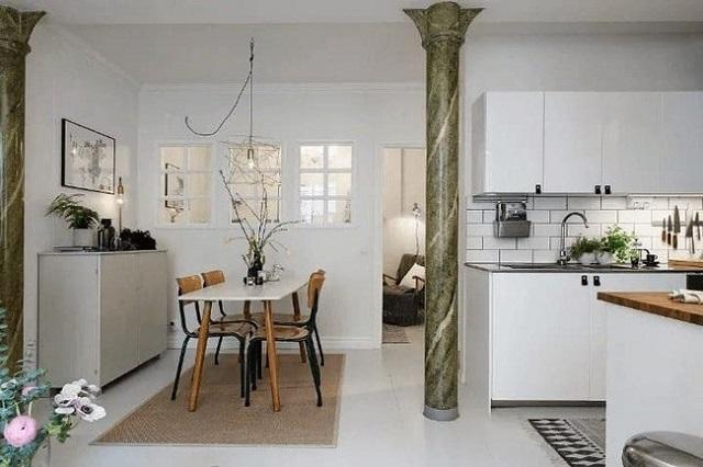 Nhà với phong cách thiết kế đơn giản