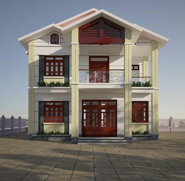 Thiết kế biệt thự tại Thái Nguyên