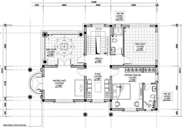 Thiết kế biệt thự tân cổ điển đẳng cấp tại Hải Phòng