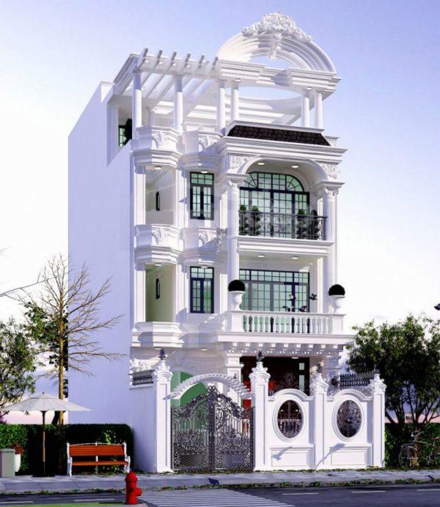 Thiết kế biệt thự tân cổ điển đẹp tại Hải Phòng