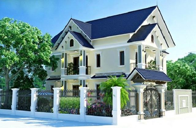 Hình 12: Phối cảnh 3D biệt thự vườn tại Bắc Giang