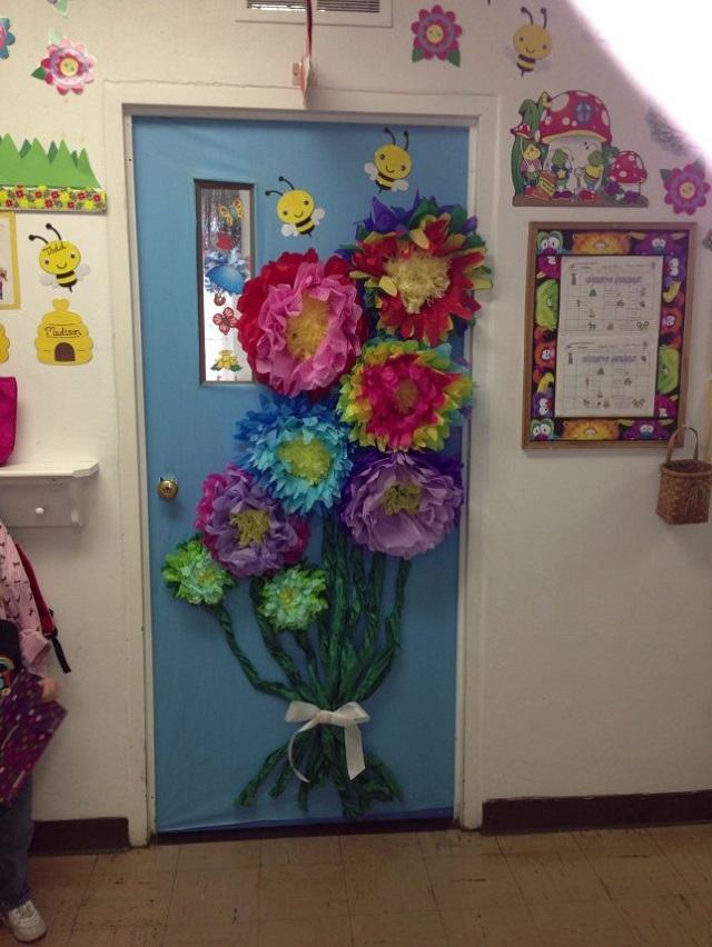 Ý tưởng trang trí bằng bó hoa