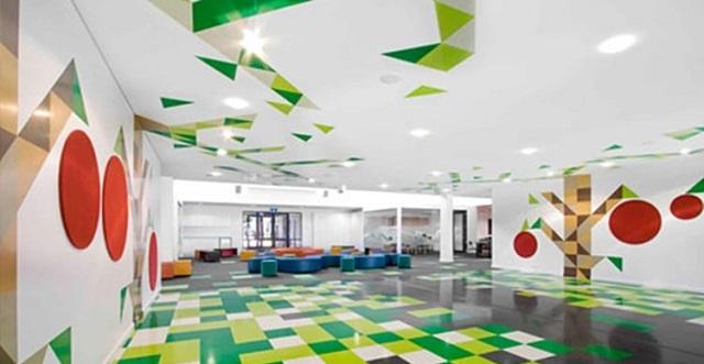 Lớp học với không gian thiết kế vô cùng sáng tạo