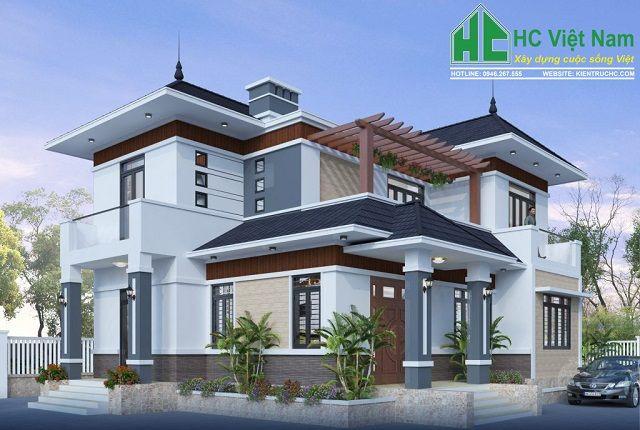 Kiến trúc HC – Đơn vị chuyên thiết kế biệt thự tại Thái Bình