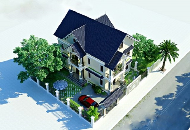 Hình 13: Thiết kế biệt thự vườn hòa quyện với thiên nhiên