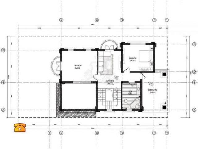Hình 27: Thiết kế mặt bằng tầng 2
