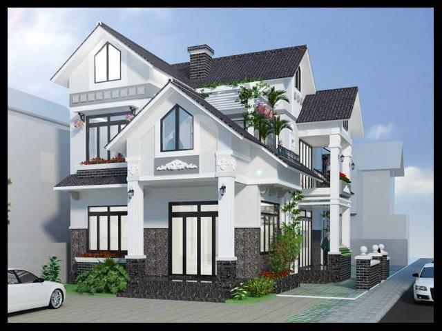 Thiết kế tầng 3 của biệt thự