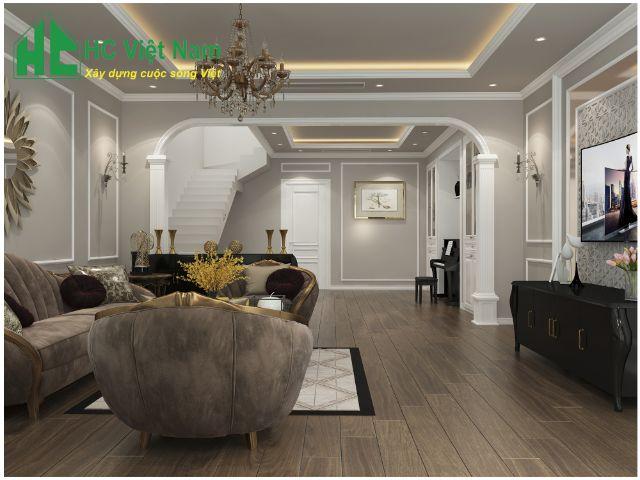 Kiến trúc HC- Đơn vị chuyên thiết kế biệt thự tại Hà Nam