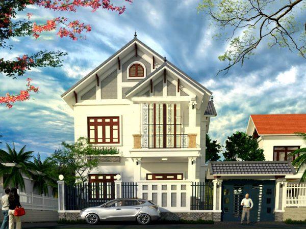 Tổng quan biệt thự 2 tầng tại Phú Thọ