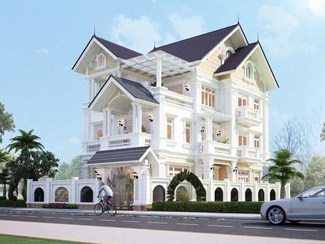 Thiết kế biệt thự tại Phú Thọ uy tín