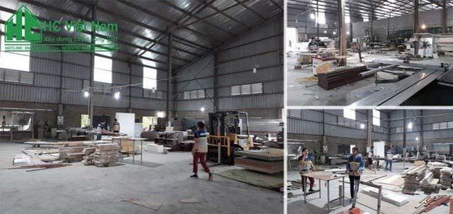 Xưởng công ty cổ phần kiến trúc & nội thất HC Việt Nam