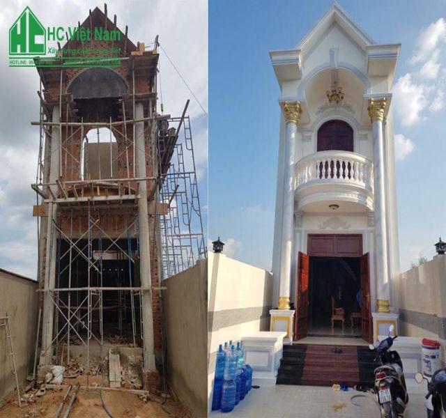 Dịch vụ xây nhà trọn gói tại Hà Nội của Kiến Trúc HC