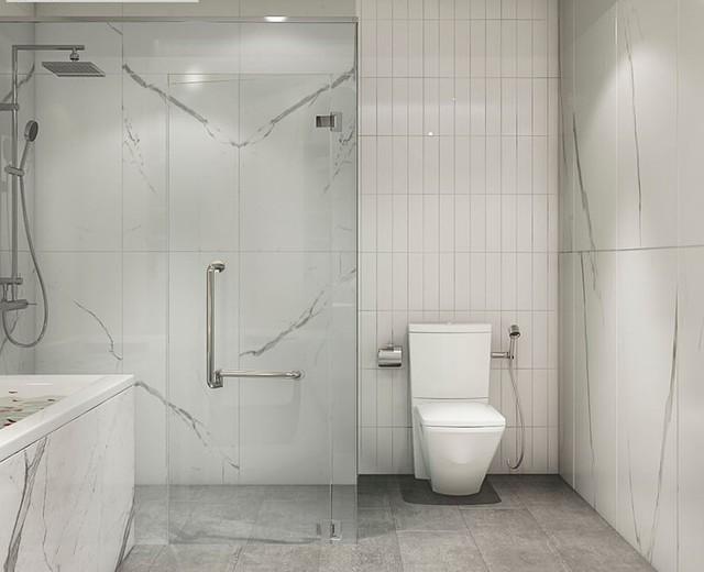 Phòng tắm sáng, sạch và luôn đảm bảo khô thoáng