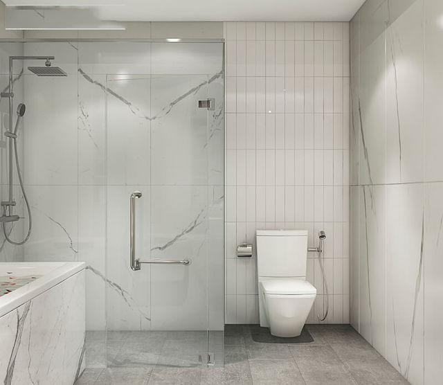 Phòng tắm mẫu thiết kế nhà anh Vinh