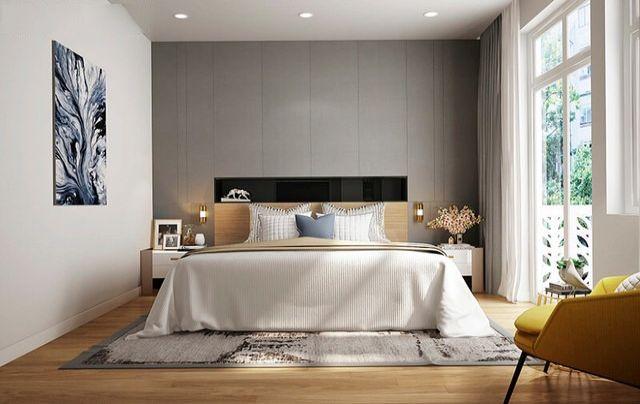 Phòng bếp kết hợp phòng ăn được thiết kế rộng rãi và ấm cúng.