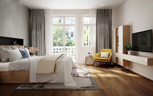 Phòng ngủ cho vợ chồng nhà anh vinh