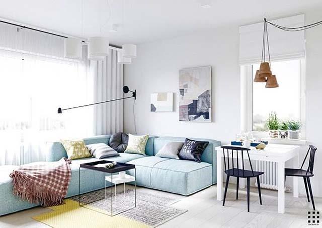 Lựa chọn nội thất nhỏ gọn giúp không gian ngôi nhà thông thoáng, tiện ích hơn