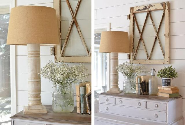 Sử dụng đèn tông màu gỗ