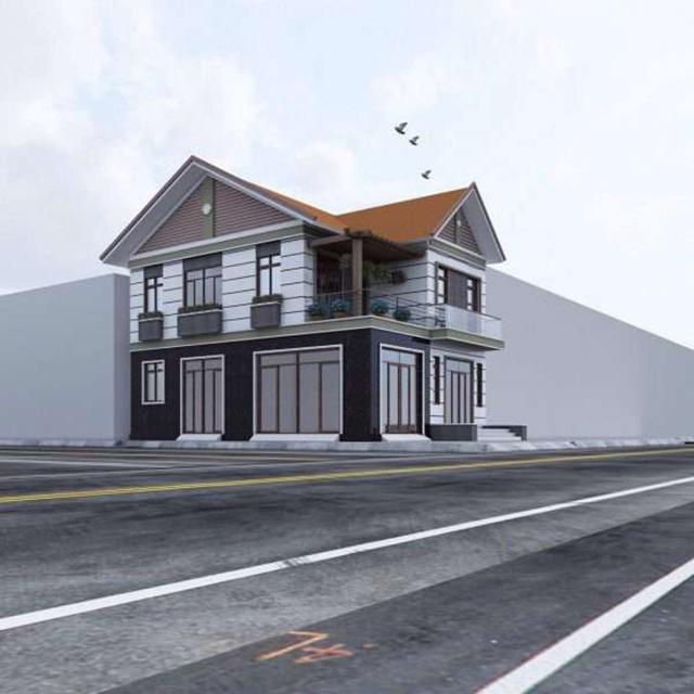 Thiết kế biệt thự 2 tầng đẹp tại Quảng Ninh 1