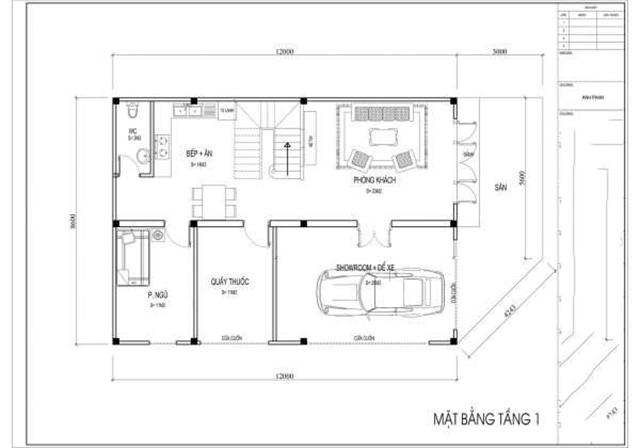 Thiết kế biệt thự 2 tầng đẹp tại Quảng Ninh 3