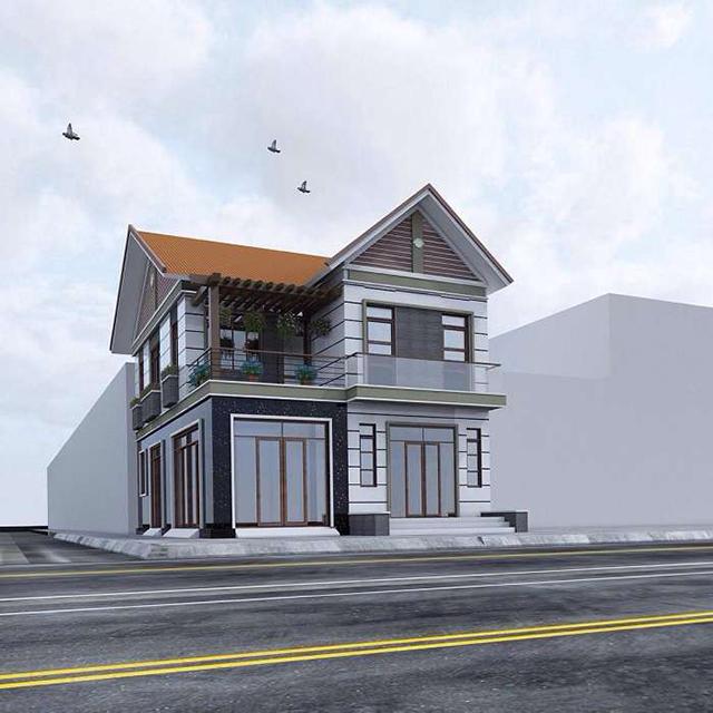Thiết kế biệt thự 2 tầng đẹp tại Quảng Ninh 2