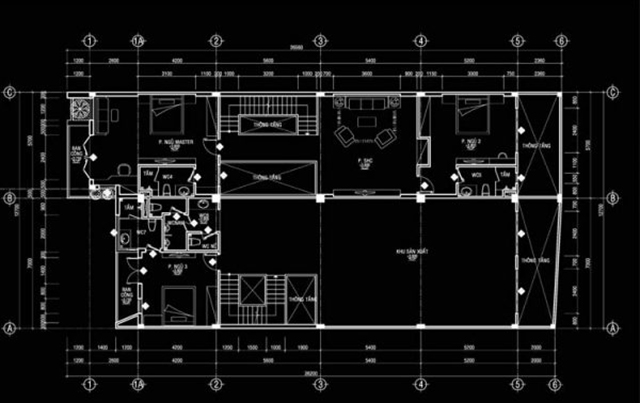 Thiết kế biệt thự hiện đại kết hợp kinh doanh tại Quảng Ninh 2