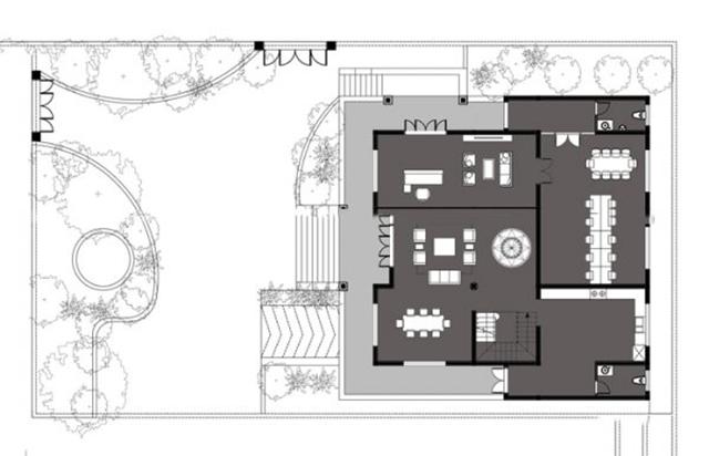 Thiết kế biệt thự kiểu Pháp 700m2 đẹp tại Quảng Ninh 3