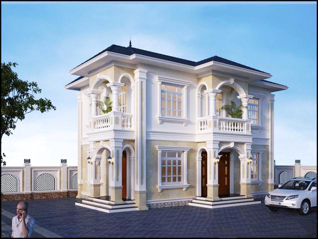 Thiết kế biệt thự mini đẹp 100m2 tại Quảng Ninh