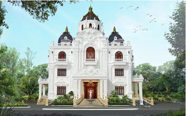 Thiết kế biệt thự tân cổ điển đẳng cấp 1000m2 tại Quảng Ninh