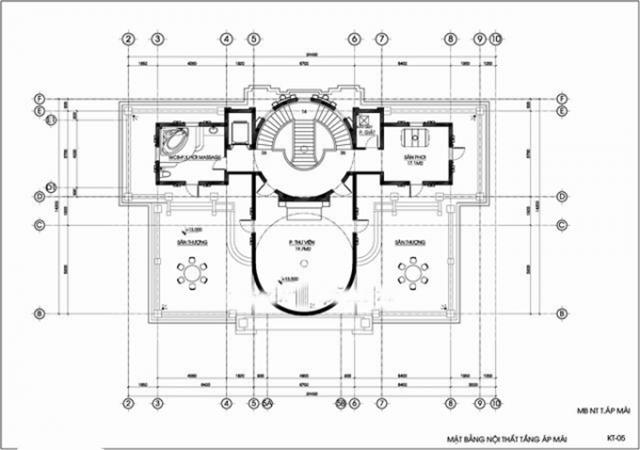 Thiết kế biệt thự tân cổ điển đẳng cấp 1000m2 tại Quảng Ninh 5