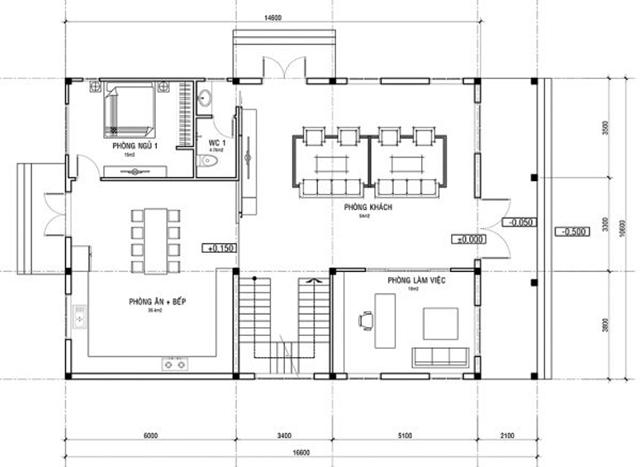 Thiết kế biệt thự tân cổ điển hiện đại 2