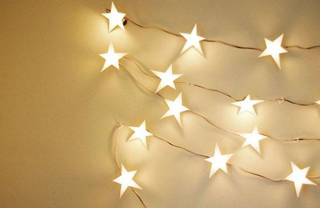 đèn led dây hình ngôi sao