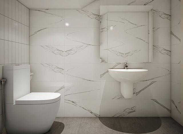 Mẫu Thiết kế nội thất nhà ống 5m x 20m mang phong cách hiện đại 22