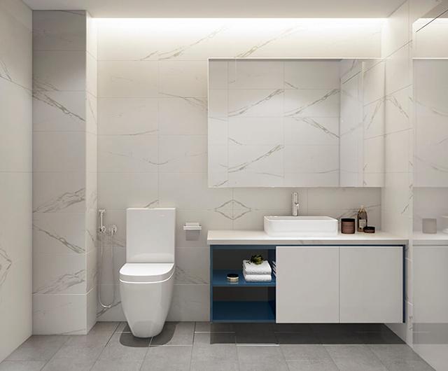Mẫu Thiết kế nội thất nhà ống 5m x 20m mang phong cách hiện đại 23