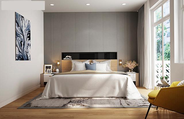 Mẫu Thiết kế nội thất nhà ống 5m x 20m mang phong cách hiện đại 5