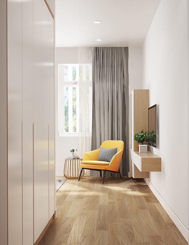 Mẫu Thiết kế nội thất nhà ống 5m x 20m mang phong cách hiện đại 7